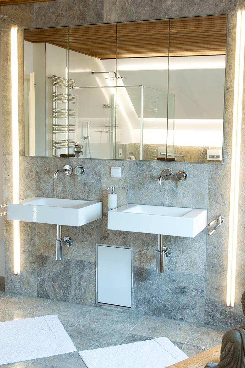 badezimmer in steinoptik fliesen gruber. Black Bedroom Furniture Sets. Home Design Ideas